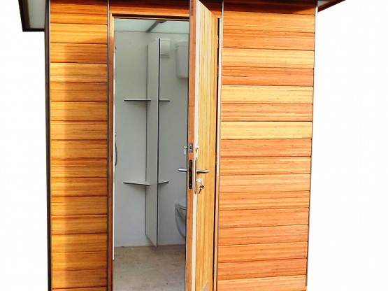 Campplus privé sanitair units